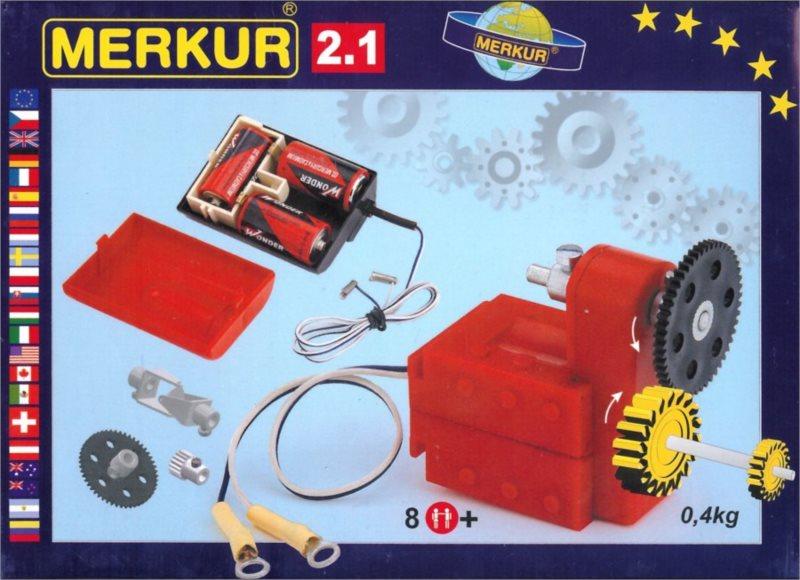 Stavebnice MERKUR M2.1 Elektromotorek