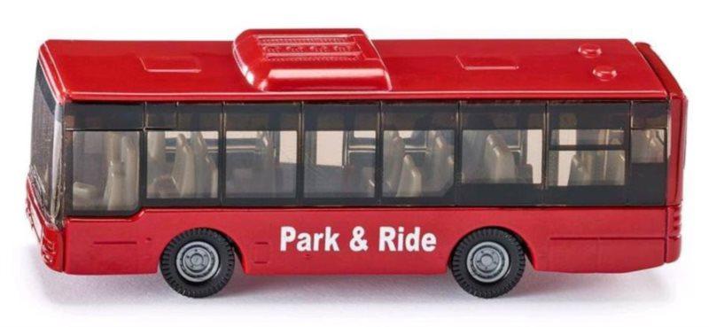 SIKU 1021 Městský autobus červený