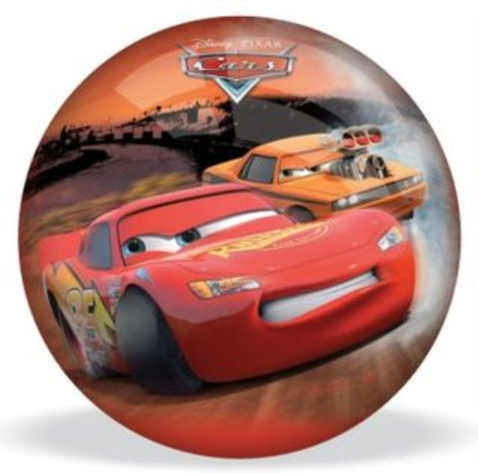 Gumový míč Mondo: Auta (Cars): Drifting průměr 14 cm