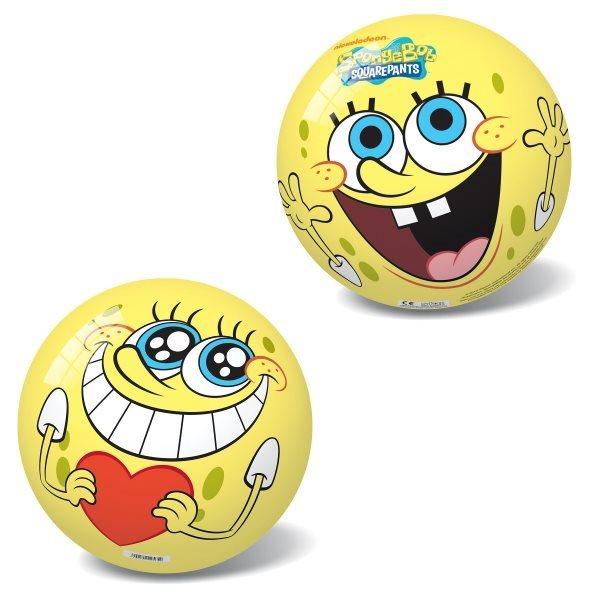 Míč Sponge Bob - obličej 14 cm