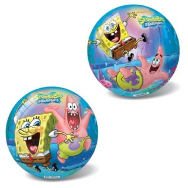 Míč Sponge Bob a hvězdice Patrik 14 cm