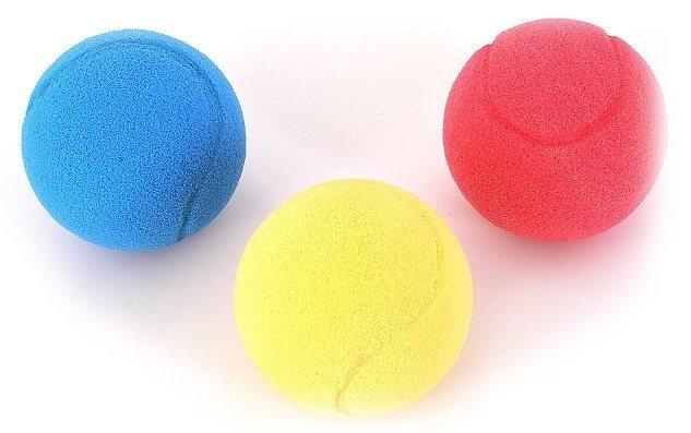 Míček na soft tenis 1ks (mix)