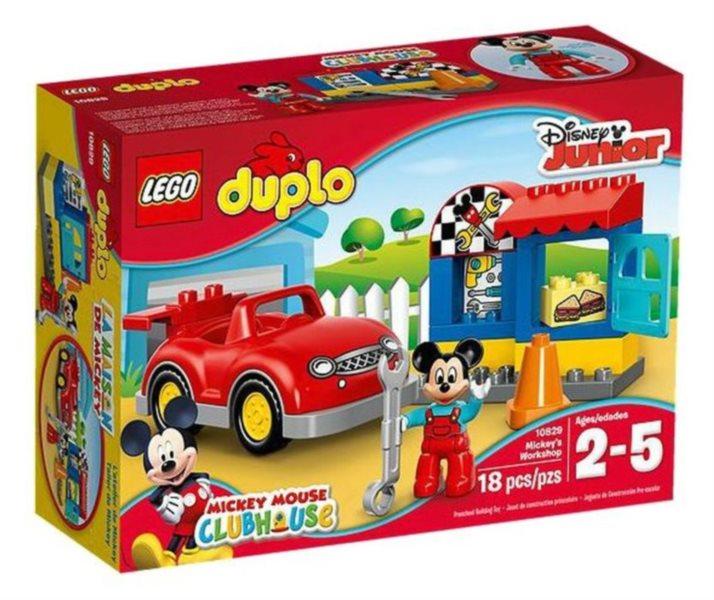 Stavebnice DUPLO® 10829 Mickeyho dílna