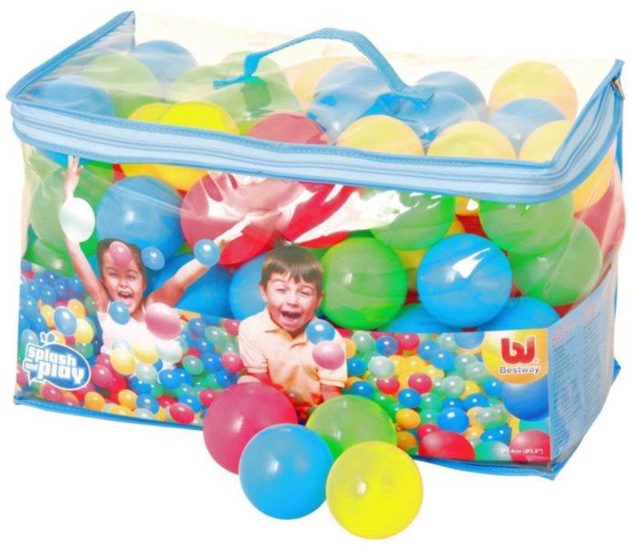 Hrací míčky do bazénu 100 ks (průměr 6 cm)