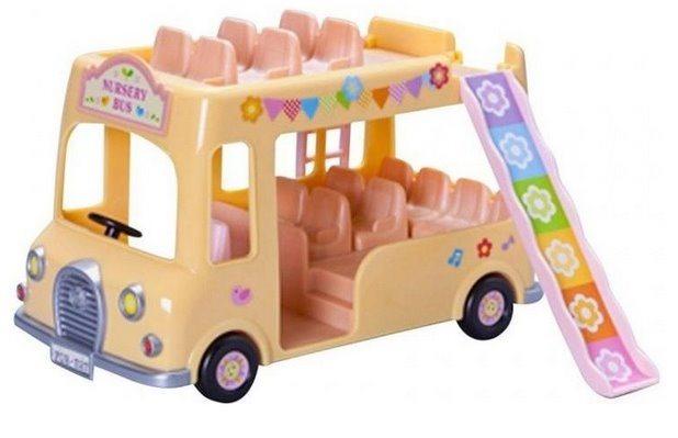 Sylvanian Families 5275 Dvoupatrový školní autobus