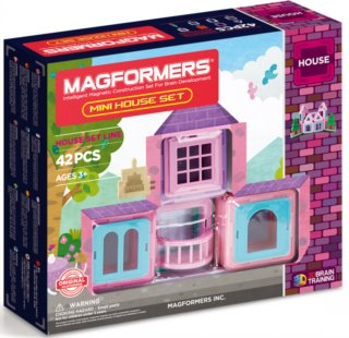 Magnetická stavebnice MAGFORMERS Magformers Mini House