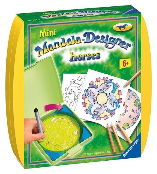 Mini Mandala box: Koně