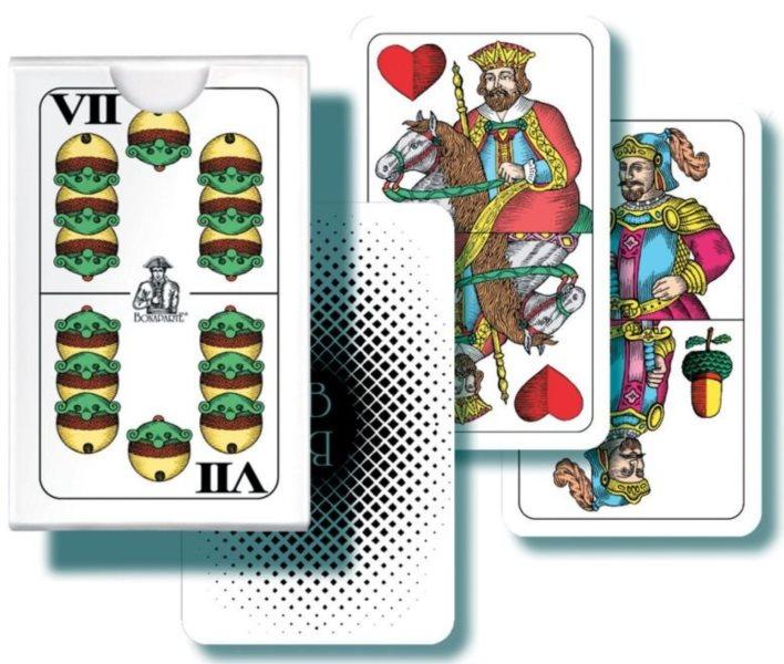 Hrací karty Mini Mariáš - dvouhlavé karty, BONAPARTE