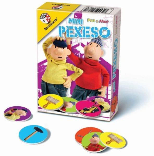 Mini Pexeso - Pat a Mat, BONAPARTE