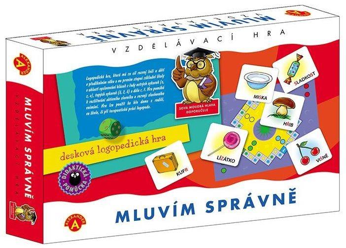 ALEXANDER Dětská naučná hra Mluvím správně