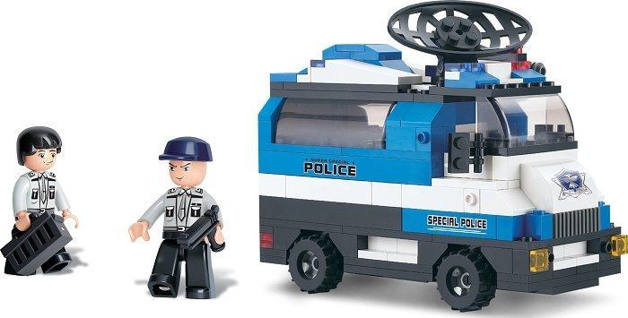 Stavebnice SLUBAN Mobilní policejní řídící jednotka