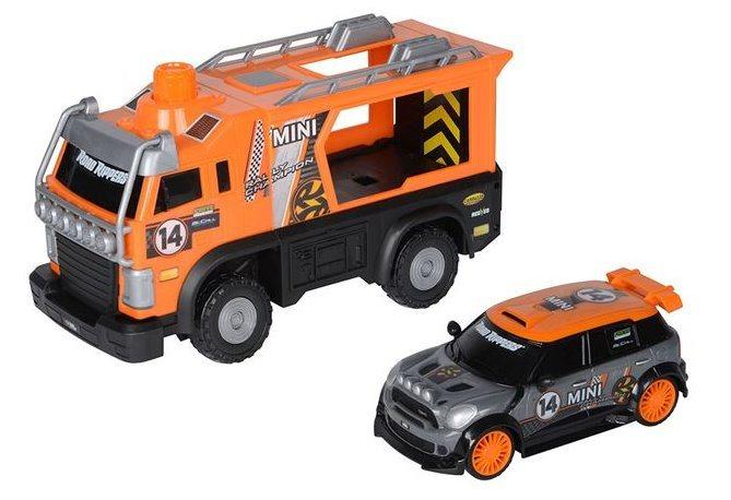 Mobilní servisní jednotka: oranžová