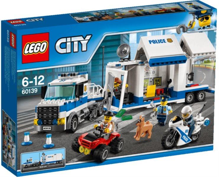 Stavebnice LEGO® City 60139 Mobilní velitelské centrum