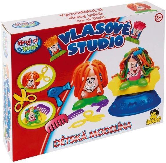 Hrej si & tvoř - MODELÍNA: Vlasové studio