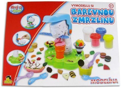 Hrej si & tvoř - MODELÍNA: Zmrzlinový stroj
