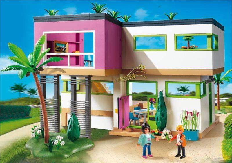 poškozený obal: Playmobil 5574 Moderní vila