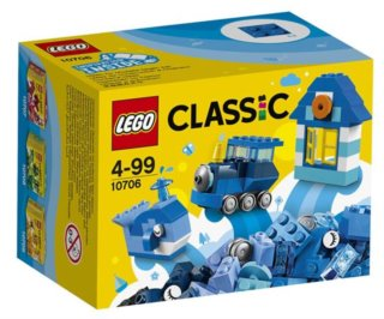 Stavebnice LEGO® Classic 10706 Modrý kreativní box