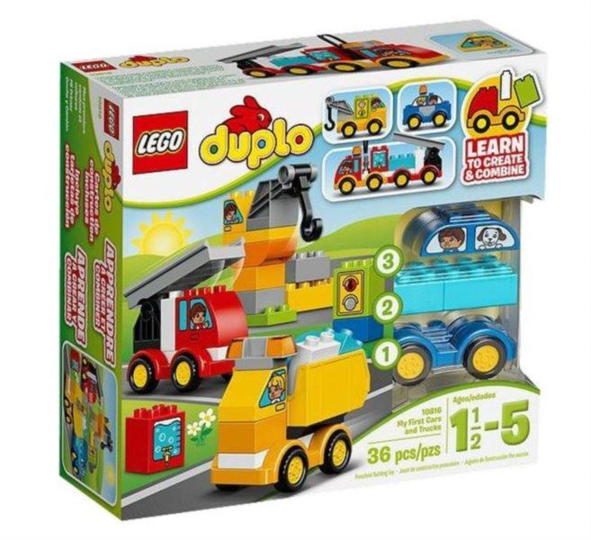 Stavebnice DUPLO® 10816 Moje první autíčka a náklaďáky