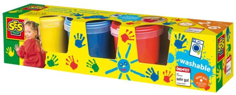 SES Moje první prstové barvy 4 x 145 ml