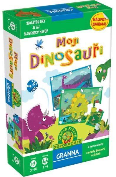 Vzdělávací hra GRANNA Moji dinosauři