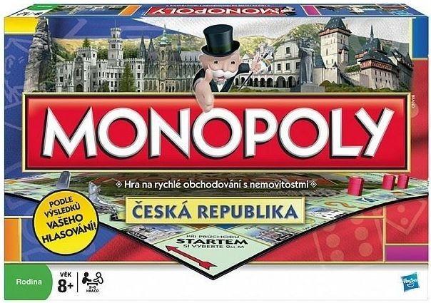 Národní edice Monopoly - Česká republika,, HASBRO