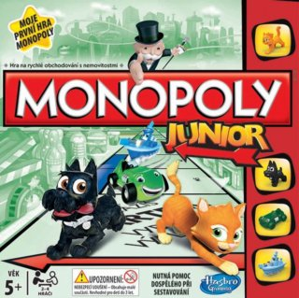 Společenská hra Monopoly Junior, HASBRO