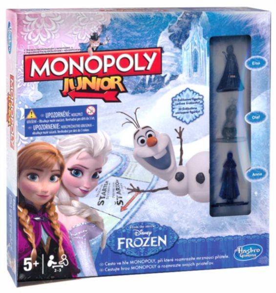 Společenská hra Monopoly Junior - Ledové království, HASBRO