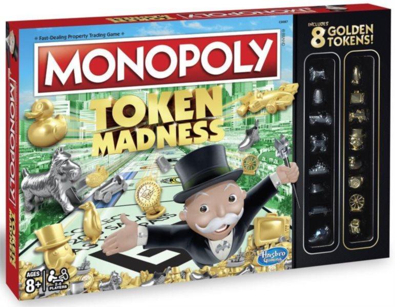 Společenská hra Monopoly Token Madness, HASBRO