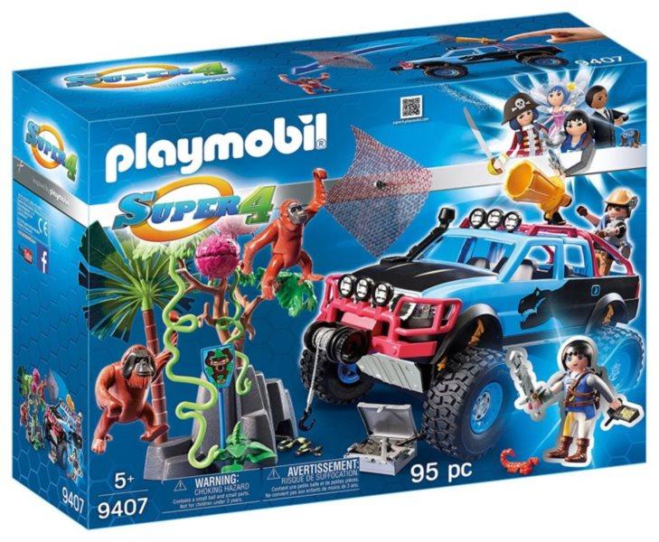 PLAYMOBIL Monster Truck, Alex a Rock Brock 9407