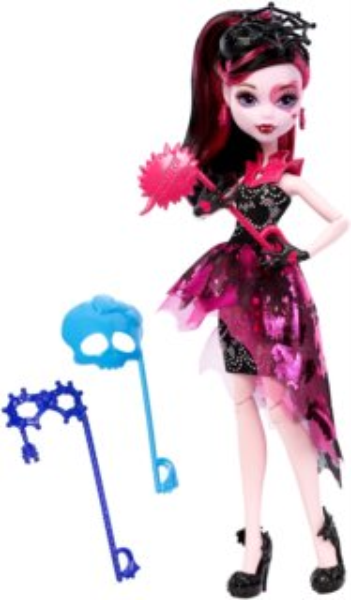 MATTEL Monster High příšerka s doplňky do fotokoutku - Draculaura