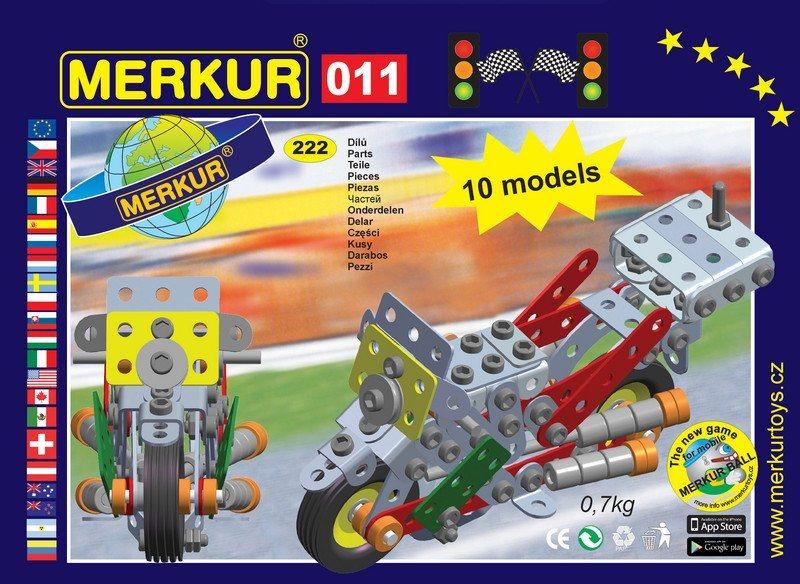 Stavebnice MERKUR - Motocykl M011