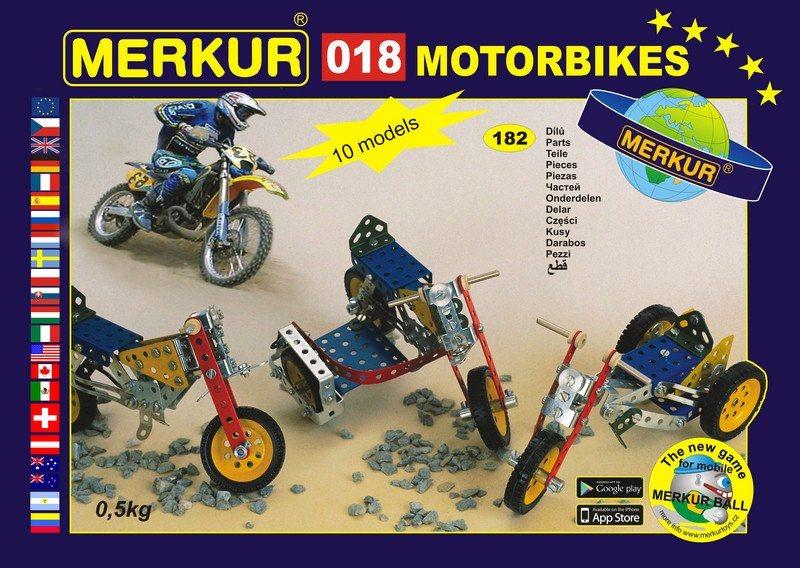Stavebnice MERKUR - Motocykl M018