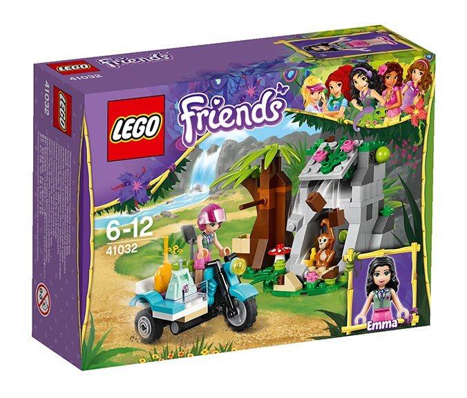 Stavebnice LEGO® Friends 41032 Motorka do džungle - první pomoc
