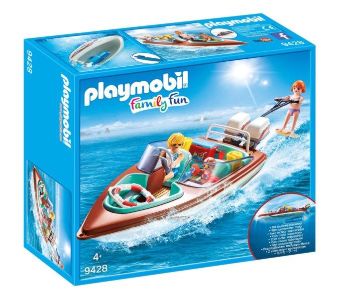 PLAYMOBIL Motorový člun s podvodním motorem 9428