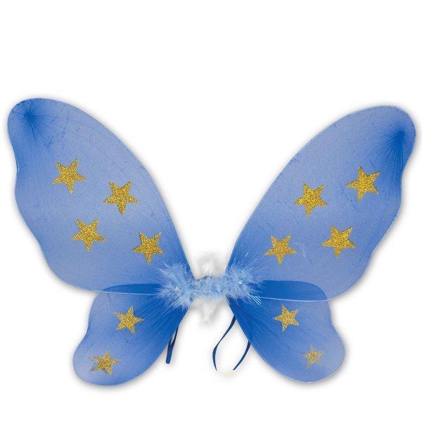 Dětský kostým Motýlí křídla - modrá, MADE