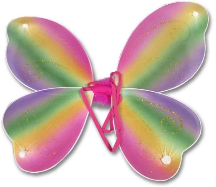 Motýlí křídla - duhová