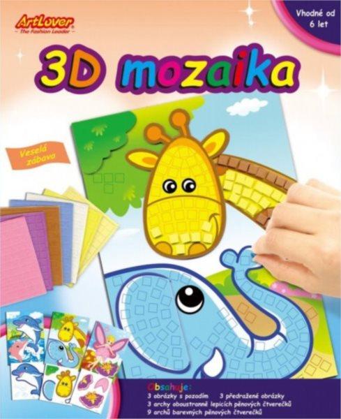 ARTLOVER 3D Mozaika - sada 3ks