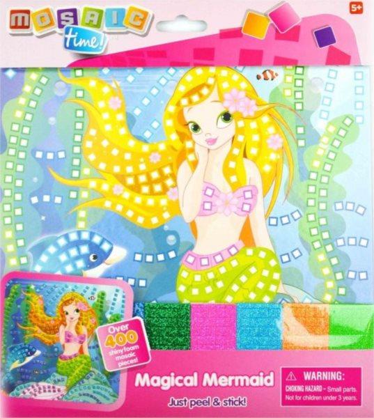 Mozaikový obrázek MOSAIC TIME Mořská panna