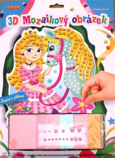 ARTLOVER Mozaikový obrázek - Princezna s koníkem