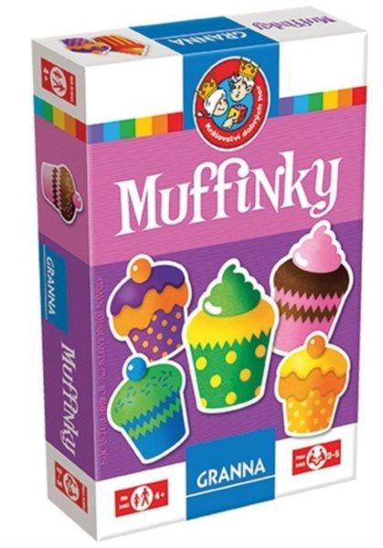 Vzdělávací hra GRANNA Muffinky