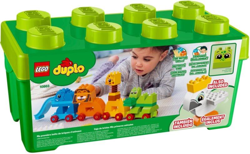 LEGO® DUPLO® Můj první box se zvířátky 10863