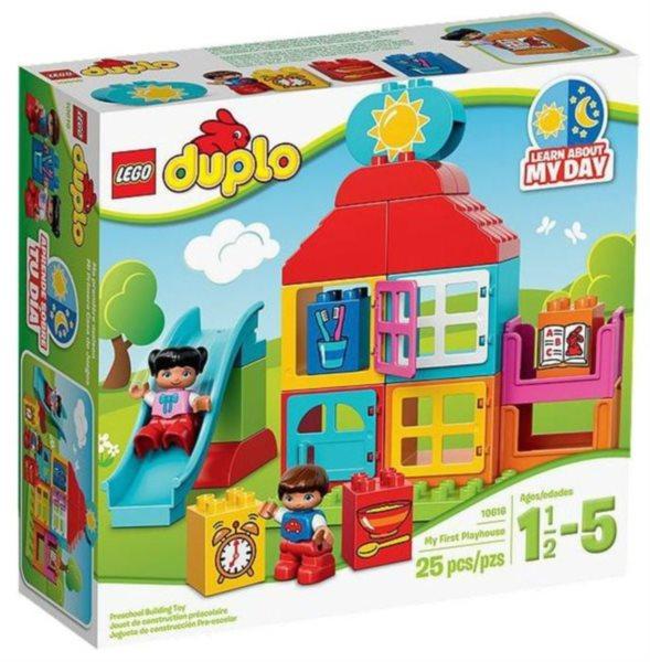 poškozený obal: Stavebnice DUPLO® 10616 Můj první domeček na hraní