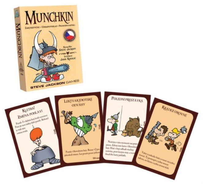 BLACKFIRE Karetní hra Munchkin