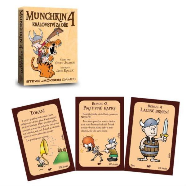 BLACKFIRE Karetní hra Munchkin: Království za oře (4. rozšíření)