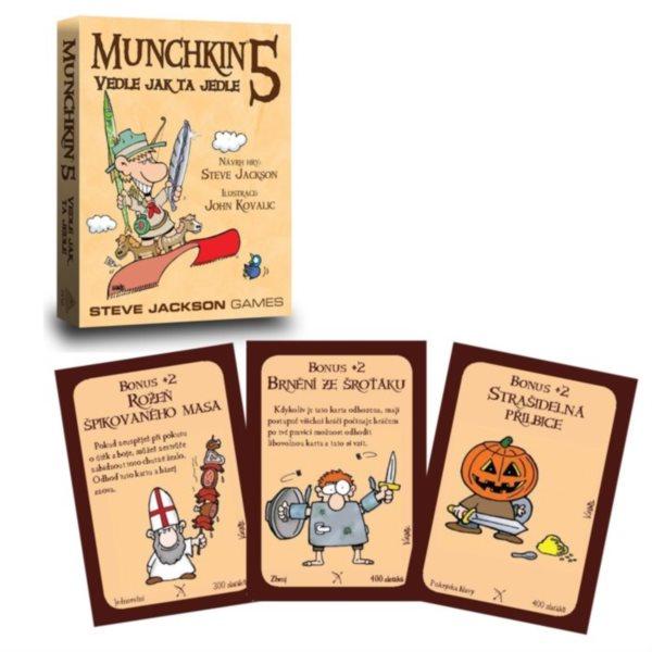 BLACKFIRE Karetní hra Munchkin: Vedle jak ta jedle (5. rozšíření)