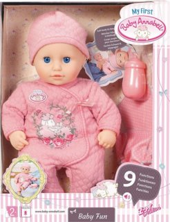 ZAPF CREATION My First Baby Annabell Baby Fun