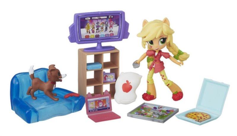 poškozený obal: HASBRO, My Little Pony: Hrací set Apple Jack
