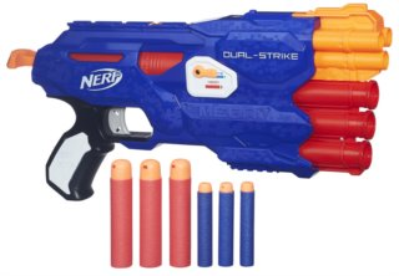 NERF N-STRIKE Dual-Strike