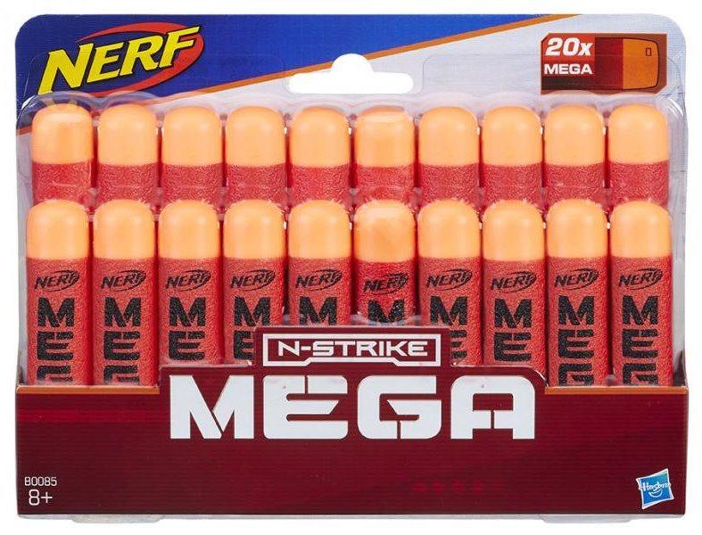 NERF N-STRIKE Náhradní MEGA šipky (20 ks)