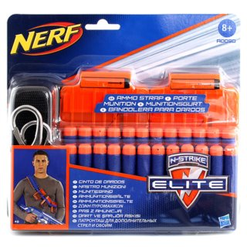 NERF N-STRIKE Výstroj - Popruh s municí (24 šipek)